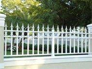 Openwork fences