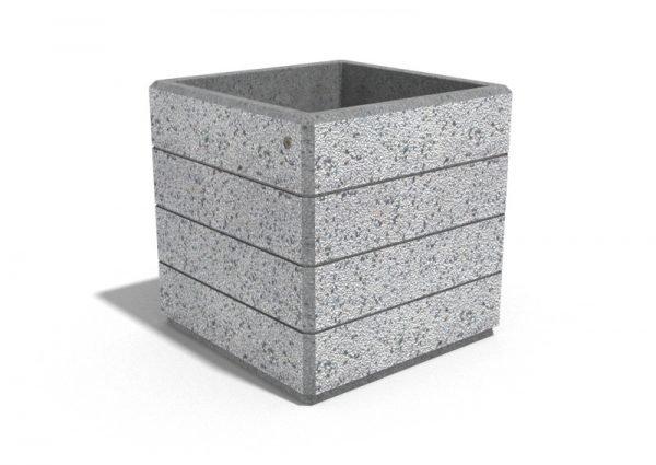 Encho - Квадратни бетонни кашпи