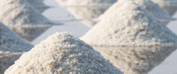 морска сол за поддръжка към снегопочистване