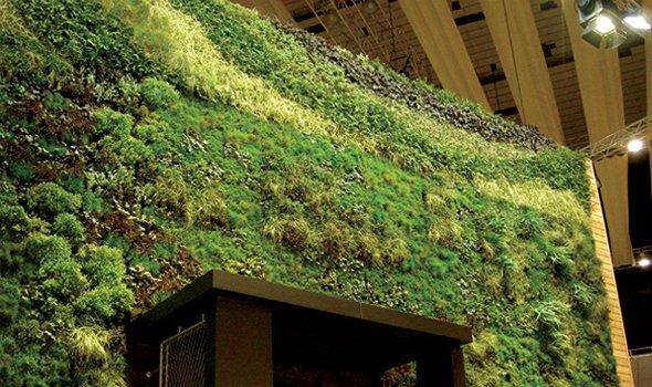Система Live Panel, вертикално озеленяване