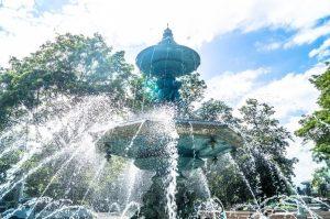декоративни фонтани за частни градини