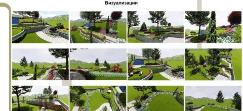 Визуализации на Ландшафтното проектиране